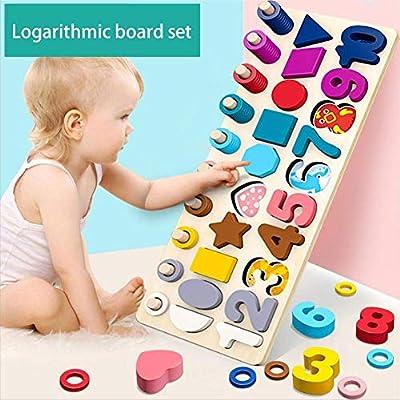 Bloques de construcción de forma digitales de los niños juguetes ...