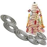Norpro Nonstick Kransekake Dessert Ring Cake Tower Forms NEW