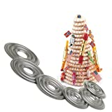 Norpro 3273 Cake Forms Nonstick Kransekake Norwegian Dessert Ring Tower New 3273