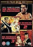 No Retreat No Surrender 1-3 Trilogy Collection 1-3 [NON-USA Format / Import / Region 2 / PAL]