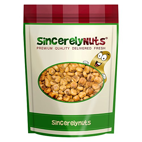 Sincerely Nuts Jumbo Corn Kernels Roasted & Salted - Five Lb. Bag - Totally Delish - Sealed for Freshness - Full of Healthy Nutrients - Love Corn