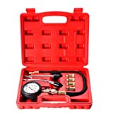 Winnerbe Automotive Petrol Engine Compression Tester Test Kit Gauge Car Motorcycle Tool