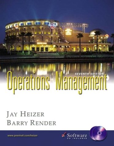Operations Management and Student CD-ROM, Seventh Edition