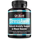 Dr. Emil StressAway - Natural Anxiety Relief Supplement with Ashwagandha, 5-HTP & L