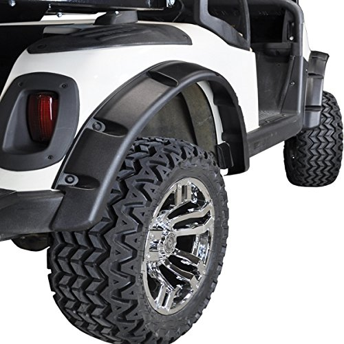 EZGO RXV Golf Cart Fender Flares (Set of 4) ()