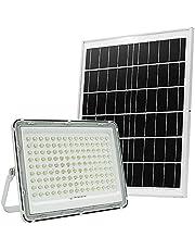 200 W LED-solgolvlampa, 144 LED-lamppärlor, utomhus gatuljus IP66 vattentät, radiation område 2150 ft², lämplig för courtyards, trädgårdar, basketbollar, arenor, parker, villllas, garage