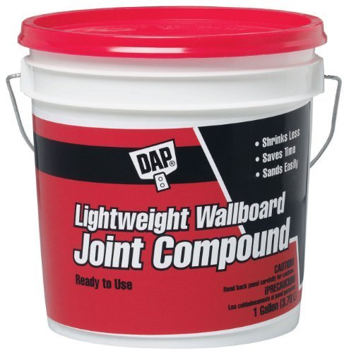 Dap 10114 1 Gallon Lightweight Wallboard Joint Compound, Model: 10114, Outdoor & Hardware Store (Joint Wallboard)