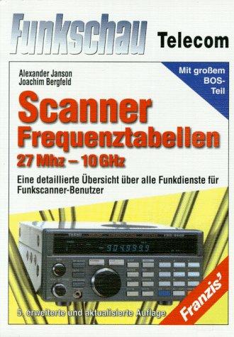 Scanner- Frequenztabelle 27 MHz - 10 Ghz