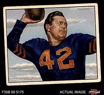 1950 Bowman   27 Sid Luckman Chicago Bears (Football Card) Dean s Cards 3 - 2e7d12b0d
