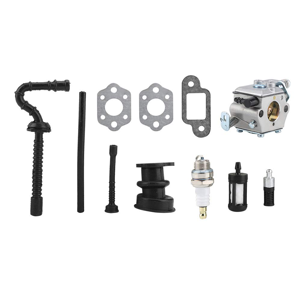 Mumusuki El carburador Kit Carb Trimmer reemplaza los Kits de Ajuste de Filtro de Combustible de Aire para Stihl MS210 MS230 MS250 021 023 025 Motosierra Carb Air Filter