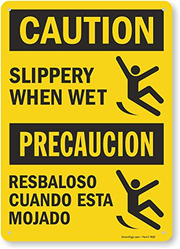 Sign Precaucion -