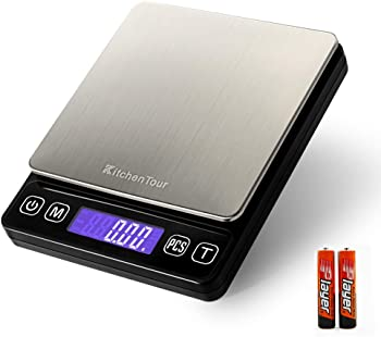 K KitchenTour Digital Kitchen Scale