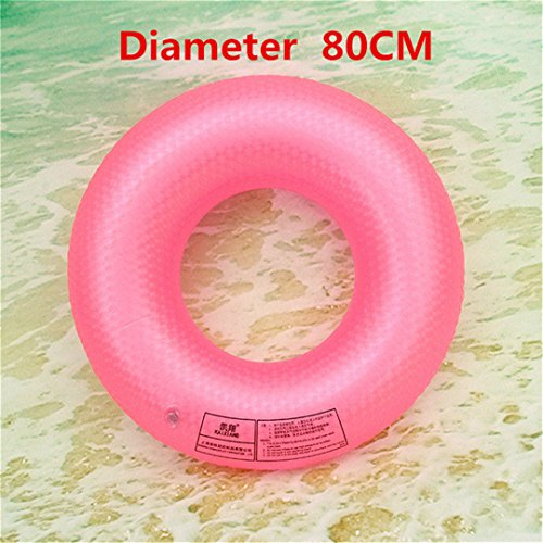 YOUYONGAUA Adult Swimming Laps Buoy Swim Ring Swimming Lap Inflatable Buoy More Adult Men And Women More Sit Underarm Circle pink (Female Inflation Suit)