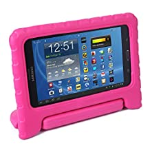 HDE Samsung Galaxy Tab 4 7.0 Case Kids Shock Proof Cover Stand for 7 inch Galaxy Tab 4 Tablets (Pink)