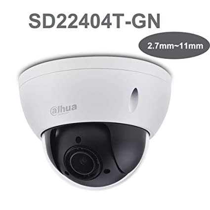 Dahua IP Camera SD22404T-GN 4MP 2 7mm~11mm Focal Length Support PoE Optical  Zoom IP66, IK10 PTZ Network Camera English Version