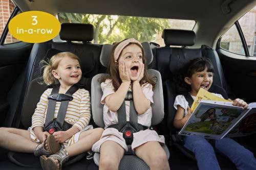 51KF4BI62 L - WAYB Pico Travel Car Seat, Black | Portable And Foldable | Forward-Facing Convertible Car Seat | Toddler Car Seat | 5-Point Harness | Everyday, Carpool, Rideshare And Airplane