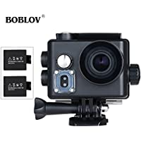 BOBLOV 4K Sports Action Camera Video Camcorder 2.0 LCD 16MP HD WiFi Waterproof
