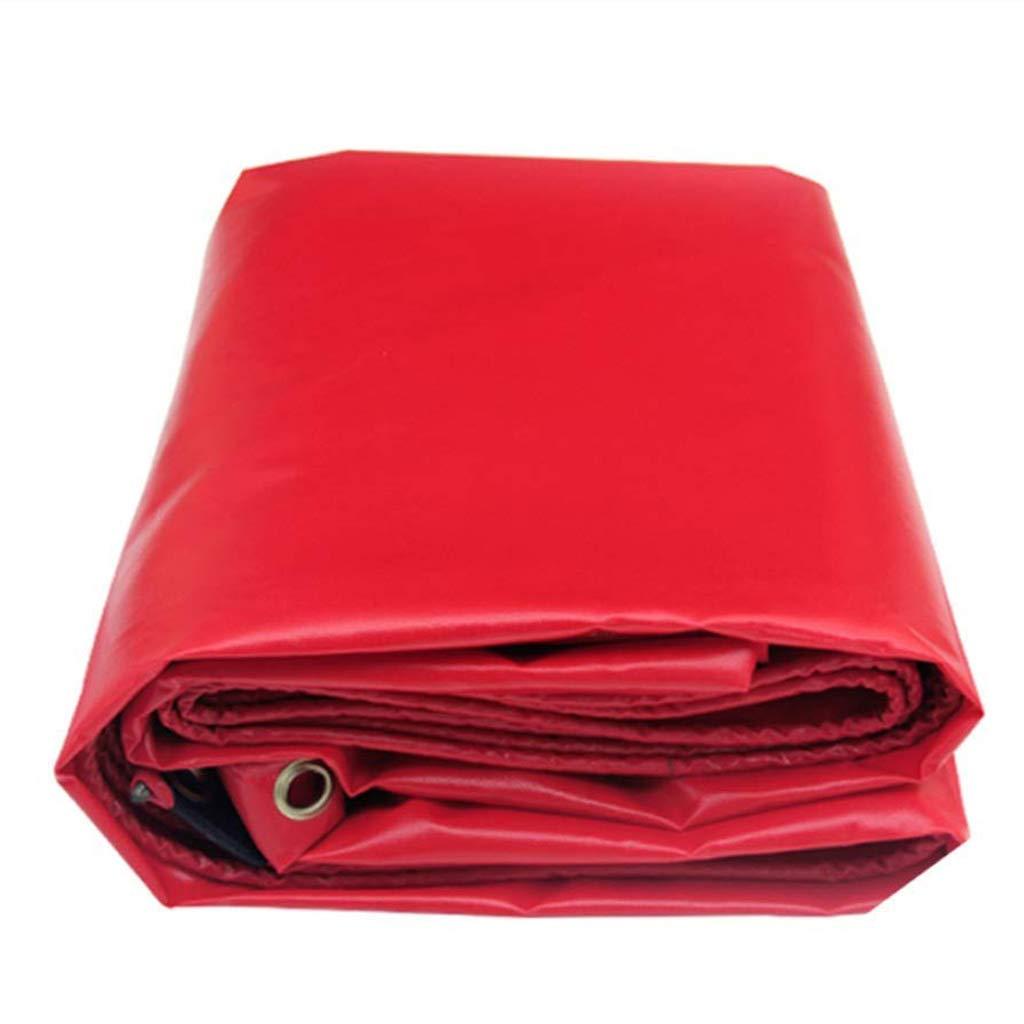 ターポリンの厚いPVCタールス赤いターポリンアウトドア旅行キャンプに最適プールのピクニックキャンプハイキング釣りペットの貨物カバー ( サイズ さいず ( : 8 さいず*6m ) B07JJ3PM39 サイズ 3*3m 3*3m, 横越町:4154afb9 --- itxassou.fr