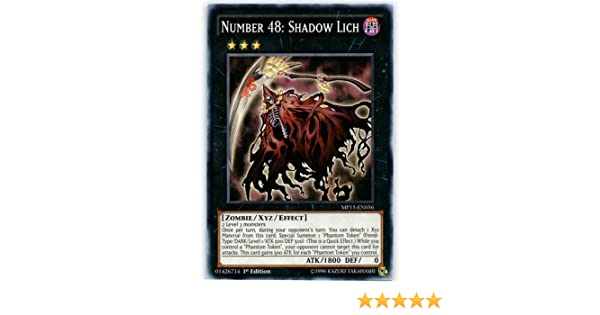 Common by Yu-Gi-Oh! - Mega Pack 2015-1st Edition Number 48: Shadow Lich MP15-EN056 Yu-Gi-Oh!