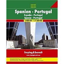 ATLAS SPIRALÉ ESPAGNE ET PORTUGAL - SPAIN PORTUGAL ATLAS