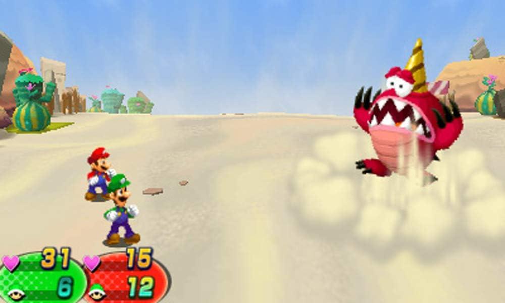 Amazon Com Nintendo 3ds Mario Luigi Dream Team Video Games