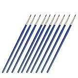 fine line paint brush - 10Pcs Miniature Fine Paintbrushes Detail Painting Brushes for Watercolor Acrylic #0