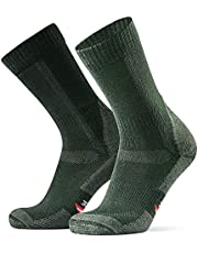 Merino Wool Hiking & Walking Socks 1-Pack for Men, Women & Kids, Trekking, Outdoor, Padding, Anti-friction, Fall, Winter