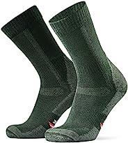 Merino Wool Hiking & Walking Socks 1-Pack for Men, Women & Kids, Trekking, Outdoor, Padding, Anti-fric