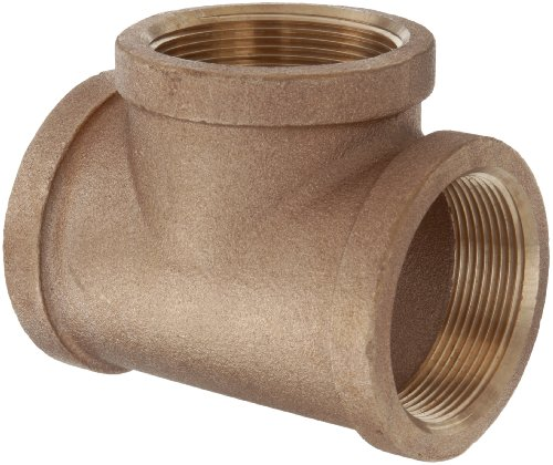"Lead Free Brass Pipe Fitting, Tee, Class 125, 3/4"" NPT Female"