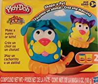 Play-doh Shape-a-pet (Make a Puppy or a Kitty!)