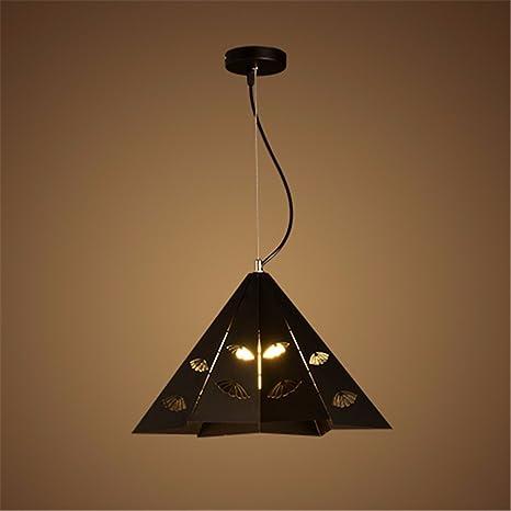 Lámpara de techo colgante,Línea Hierro forjado NordicPendant ...