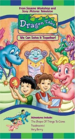 Amazon Com Dragon Tales We Can Solve It Together Vhs Andrea