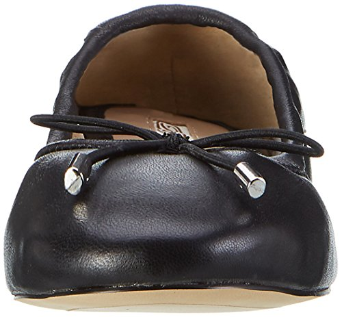 Flats Women's Black Buffalo Nappa 01 Leather Black Ballet 216 6219 London Paxqw80a
