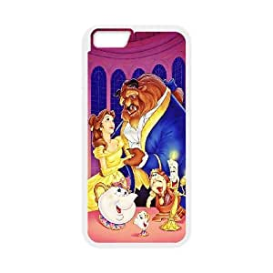 Disneys Beauty And The Beast Iphone 6 Plus 5.5 Inch Cell Phone Case White GYK3K476