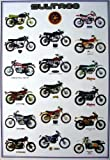 J-1694 Bultaco Spanish Motorcycle Collection Wall Decoration Poster Size 23.5