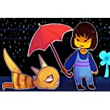 Custom Frisk Undertale Classic Bedroom Setting Home Decoration High Quality Photo Poster Prints Size 50*75 Cm Wall Sticker