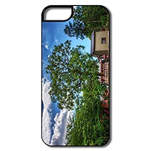 IPhone 5S Cases, God Tree Covers For IPhone 5/5S - White/black Hard Plastic