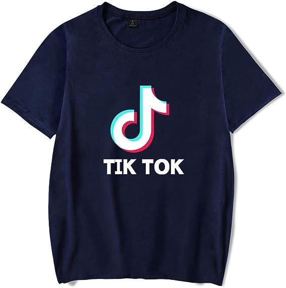 TIK Tok - Camiseta de Manga Corta para Hombre D L: Amazon.es: Ropa y accesorios