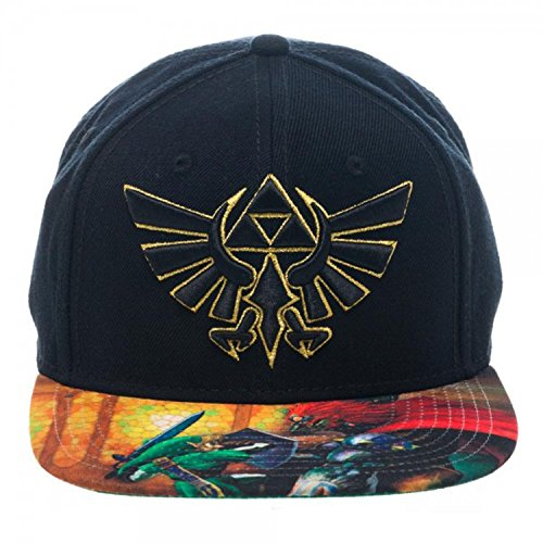 [BIOWORLD The Legend of Zelda Ocarina of Time Sublimated Bill Snapback Hat] (Flower Child Costumes Ideas)