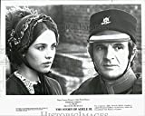 """1975 Press Photo Isabelle Adjani & Francois Truffaut In """"The Story Of Adele H."""""""