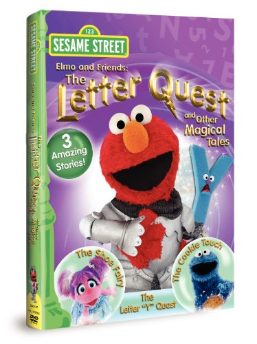 Sesame Street Elmo & Friends: The Letter Quest & Other Magical Tales (Dvd 123 Elmo)
