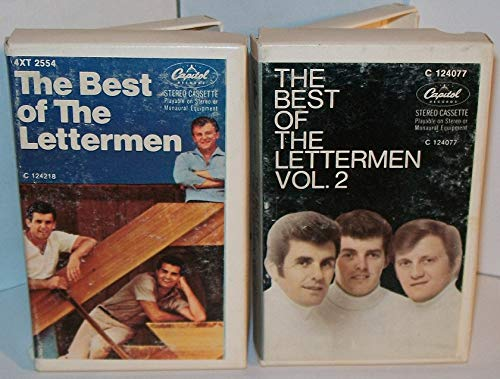 The Best of the Lettermen Vol. 1 & 2 - CASSETTE TAPES - 1975