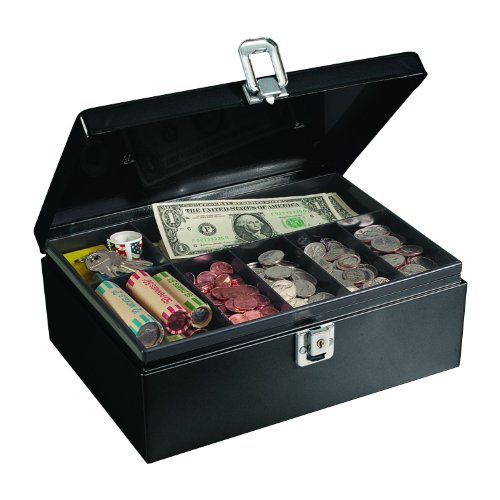 STEELMASTER Cash Box with Security Cable (221613004)