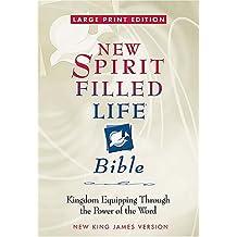 Large Print New Spirit Filled Life Bible