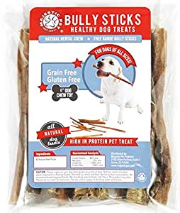 5 to 6 inch 24 pack bully sticks majestic pet all natural dog chews healthy. Black Bedroom Furniture Sets. Home Design Ideas