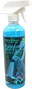 Kings Cages Rainforest Mist Bath Spray for African Greys and Amazons 17oz