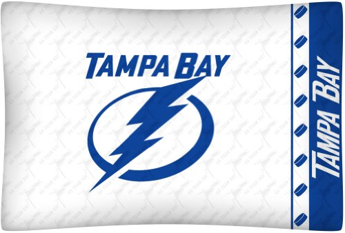Sports Coverage Tampa Bay Lightning Standard Pillowcase Bedding