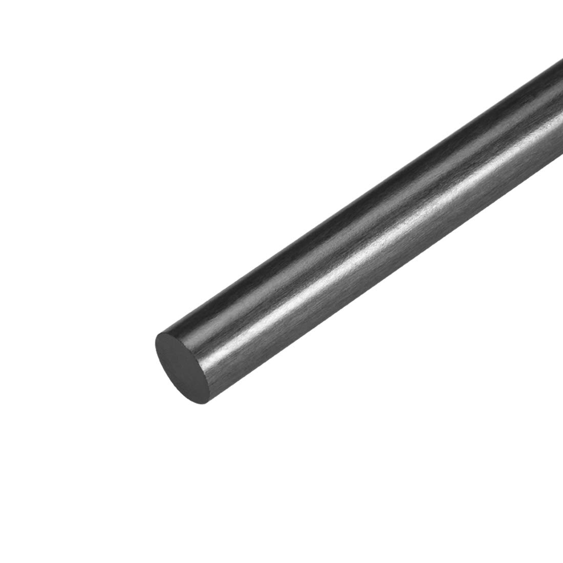 sourcing map 3mm Carbon Fiber Bar For RC Airplane Matte Pole US, 200mm 7.8 inch, 5pcs