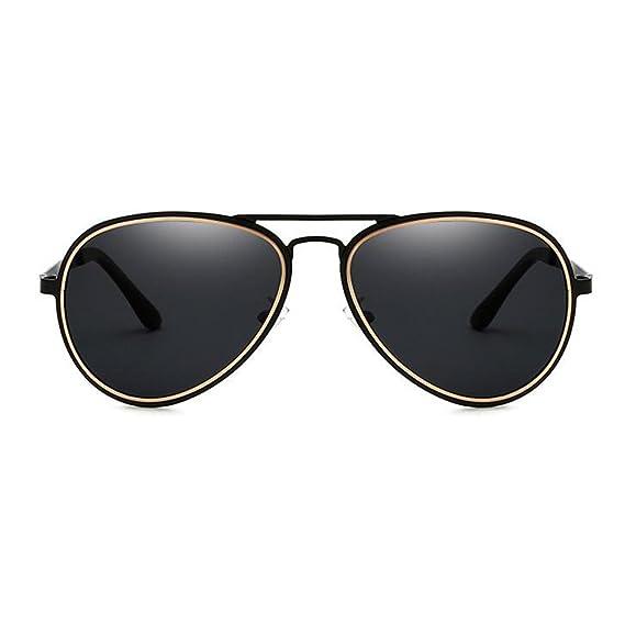 JUNDASI Gafas de sol retro del aviador de las mujeres de los hombres Gafas de sol