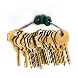 MSPowerstrange Original Offset, Residential 15 Keys Depth Key Set Professional with Bump Rings